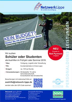 Studentische Aushilfen 2019